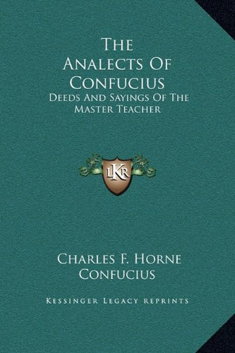 The Analects Of Confucius Pdf