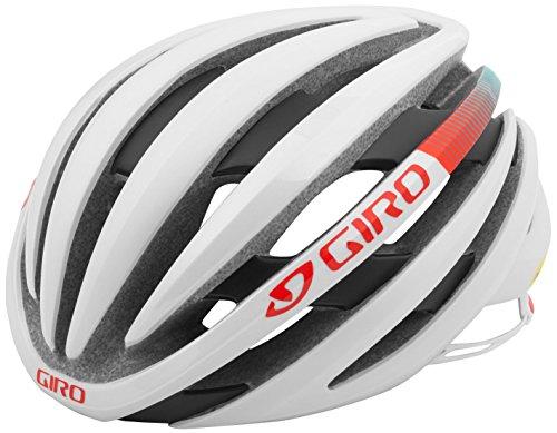 Giro Ember MIPS Bike Helmet - White/Turquoise/Vermillion Small