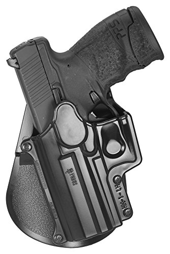 Fobus Standard Holster Left Hand Hand Paddle HK1LH H&K Compact & USP 9mm/40 & 45, Full Size 9mm/40 / S&W Sigma Series 9/40 VE/E/G / FN49 / Ruger SR9 / Taurus Millenium .40 (Pro models refer to SP11B) ()