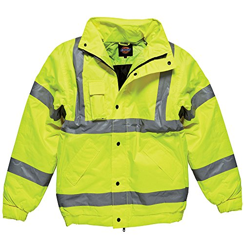 Dickies High Visibility Bomber Jacket Workwear