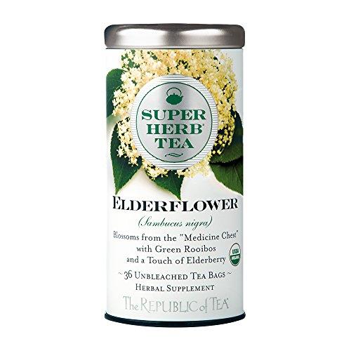 (Republic Of Tea, Tea Elderflower Super Herb Organic, 36 Count)