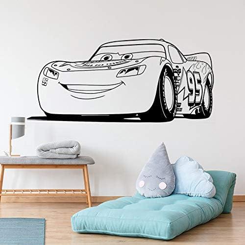 yaonuli Vinilo Art Design Wall Sticker Lightning Car Decoración para el hogar Kids Boy Poster Mural Cute Decal 75X169cm: Amazon.es: Hogar