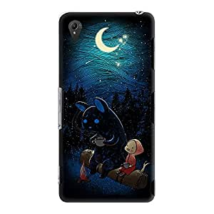 DailyObjects Moonlight Camping Case For Sony Xperia Z3