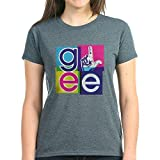 CafePress Glee El Women's Dark T Shirt Womens Cotton T-Shirt Charcoal Heather
