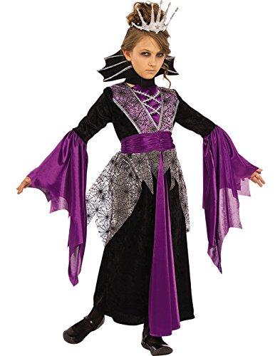 Rubies Costume Child's Queen Vampire Costume, Medium, Multicolor - Witch Queen Costume