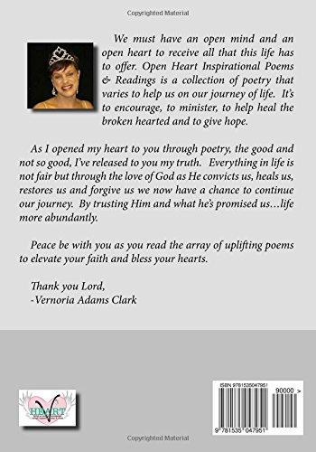 Open Heart, Inspirational Poems & Readings: Vernoria Adams