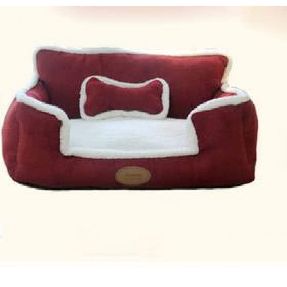 CZHCFF new bench nest washable removable dog kennel home warm soft cat puppy Large and comfortable bed for pets sofa cushion cushion