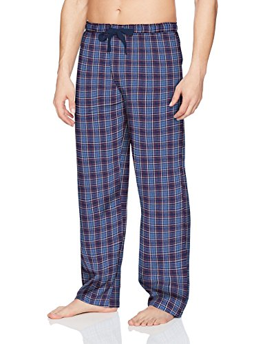Jockey Men's Sleep Pant, Blue/Red, Large