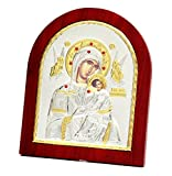 FengMicon Wall and Table Decoration Wood Orthodox Greek Church Catholic Religious Icon