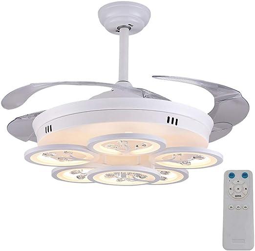 Luz invisible del ventilador de techo, control remoto led, caja ...