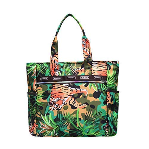 (Handbag Shoulder Bags Tote Bag Waterproof Large Lightweight Travel Totes Gym Totes for Gym Hiking Picnic Travel Beach (Tiger TB))