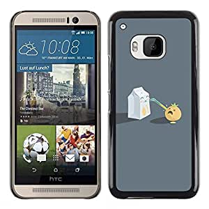 Stuss Case / Funda Carcasa protectora - Funny Milk Sucking - HTC One M9