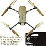 For DJI MAVIC PRO Drone Decorative Protector Anti Scratch Skin Guard - Smooth / Self-Healing / Bubble -Free by IPG (BRUSHED GOLD)