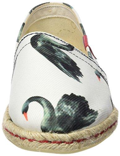 Swan Basse Multicolore Espadrillas Donna muticolor Hamptons Miss Black wUxqEa6S4R