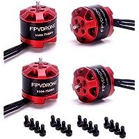 FPVDrone 1104 7500KV Brushless Motor for FPV RC Drone Mini Racing Drone Quadcopter