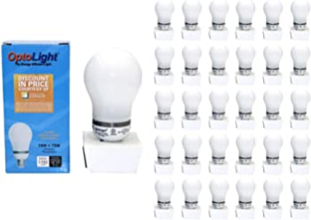 18W CFL Light Bulb 2700K Energy Saving Warm White 75 Watt Equivalent (50 Bulbs)