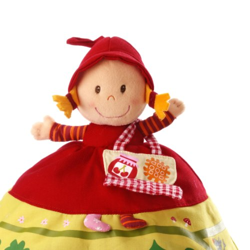 Lilliputiens, Red Riding Hood Reversible Storybook Doll
