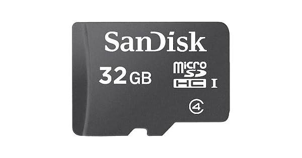 Amazon.com: SanDisk microSDHC tarjeta de memoria flash 32 gb ...