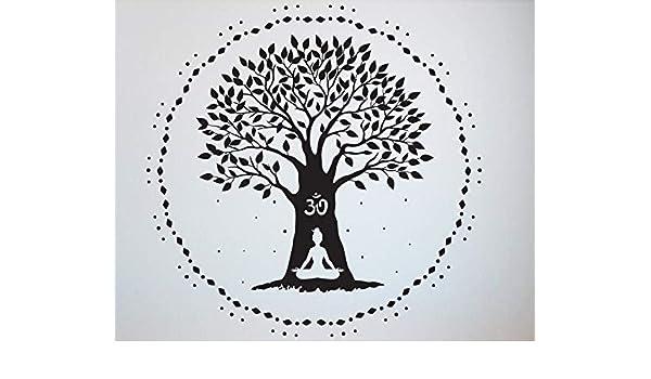 Crjzty Tatuajes de Pared de Yoga Cotizaciones de Namaste Tatuajes ...