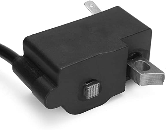 Sala-Store 1Set Plastic/&Aluminum Ignition Coil Module Black for Stihl MS261 MS261C Chainsaw Replace 1141 400 1302