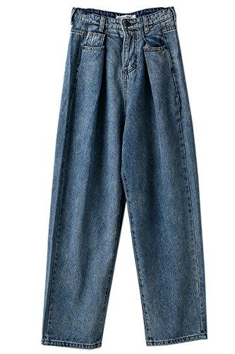 GAOLIM Pantalones Vaqueros Pantalones Sueltos De Rábano BF ...