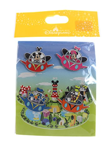 Price comparison product image Disney Hong Kong UFO 4 Pin Set