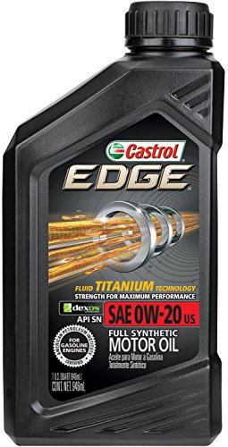 Castrol 06011-6PK Edge 0W20 Synthetic Motor Oil