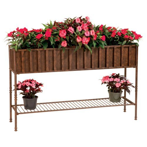 Deer Park Ironworks Solera Planter with Tin Liner, 48-Inch ()