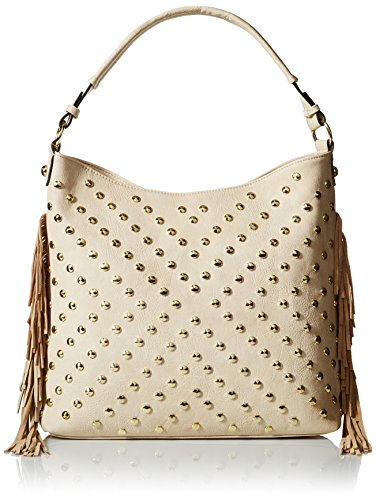 MG Collection Studded Tassel Bag (Stud Hobo Purse)