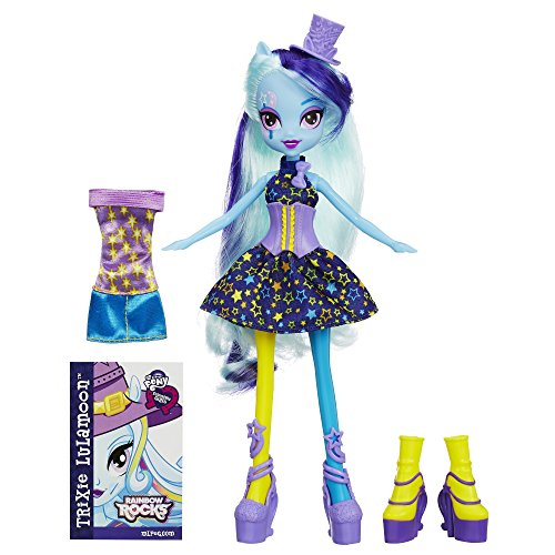 My Little Pony Equestria Girls Rainbow Rocks Trixie Lulamoon Doll with Fashions by My Little Pony