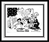 """""""Betty Boop"""" - Betty, Popeye and Koko the Clownl"""