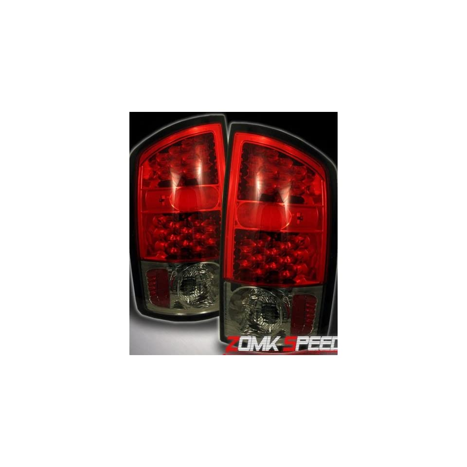 Dodge Ram Led Tail Lights Red Smoke Altezza LED Taillights 2001 2002 2003 2004 2005 2006 01 02 03 04 05 06