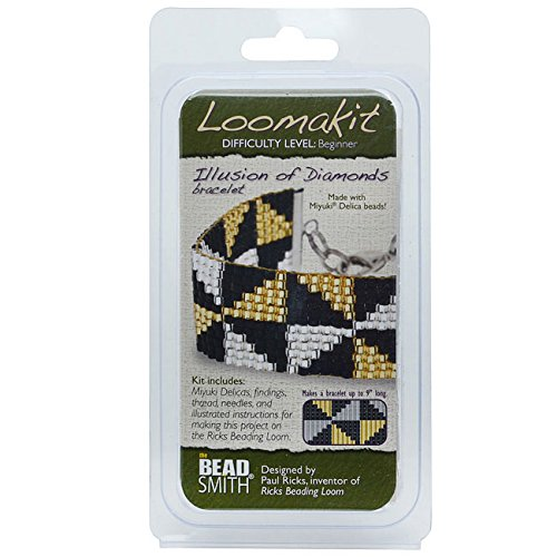 BeadSmith Loomakit Illusion of Diamonds Complete Bracelet Cuff for Rick