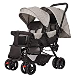 Best Reclining Car Seat Toddlers - Twin Baby Strollers, Front and Rear Sitting, Stroller Review