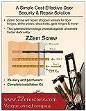ZZEM Screw -Door Reinforcement Front Door
