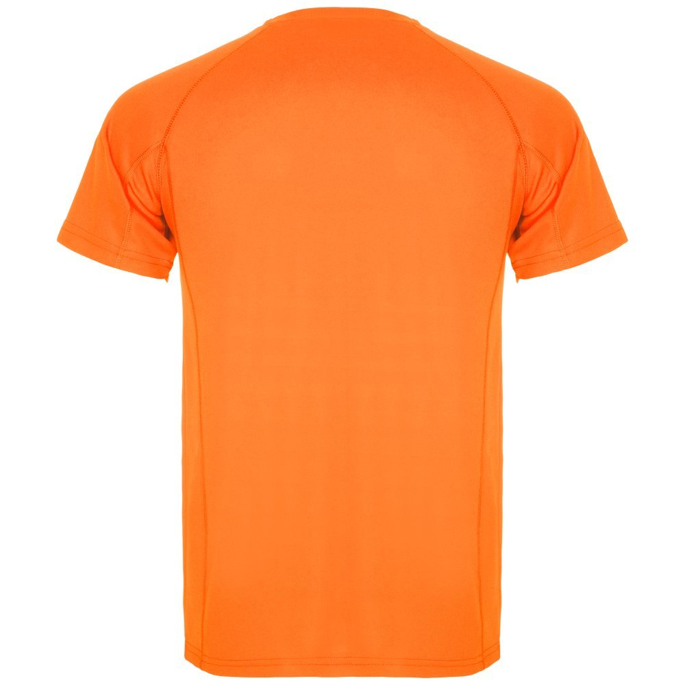 Roly Camiseta técnica para Hombre Montecarlo, Naranja Fluorescente ...