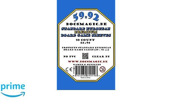 docsmagic.de Anachrony Premium Sleeves Bundle - 59 x 92 Euro ...