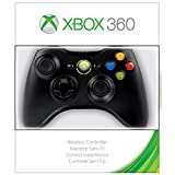 Xbox 360 Wireless Controller Black by Microsoft