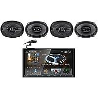 Kenwood DNX875S 6.95 Navigation DVD Bluetooth Receiver+(4) Kicker 6x9 Speakers
