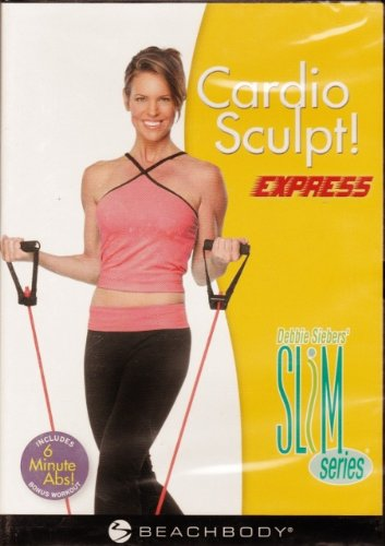 Debbie Siebe Beachbody Slim Series Cardio Sculpt! Express DVD Format by