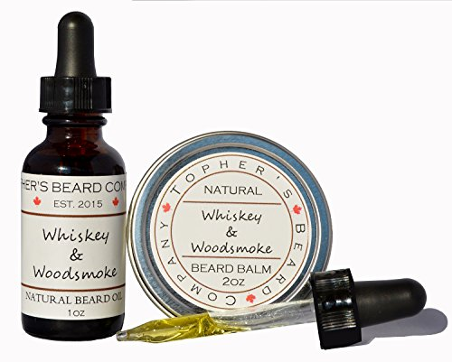 whiskey-woodsmoke-1-scented-beard-oil-and-balm-combo-1oz-2oz-tophers-beard-company-for-growth-moistu