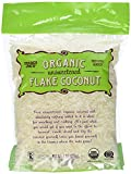 2 Bags of Trader Joe's Organic Unsweetened Flake Coconut