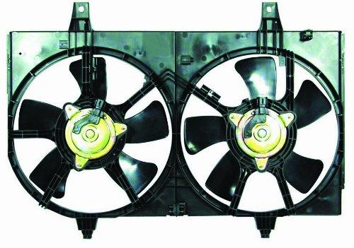 Depo 315-55003-000 Dual Fan Assembly - Maxima Radiator Cooling Fan Assembly