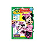 Crayola My First Colour and Shapes Sticker Activities, Minnie Mouse