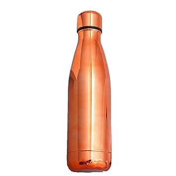 NYCROSSER Botella De Matraz Acero Inoxidable Bpa Sin VacíO ...