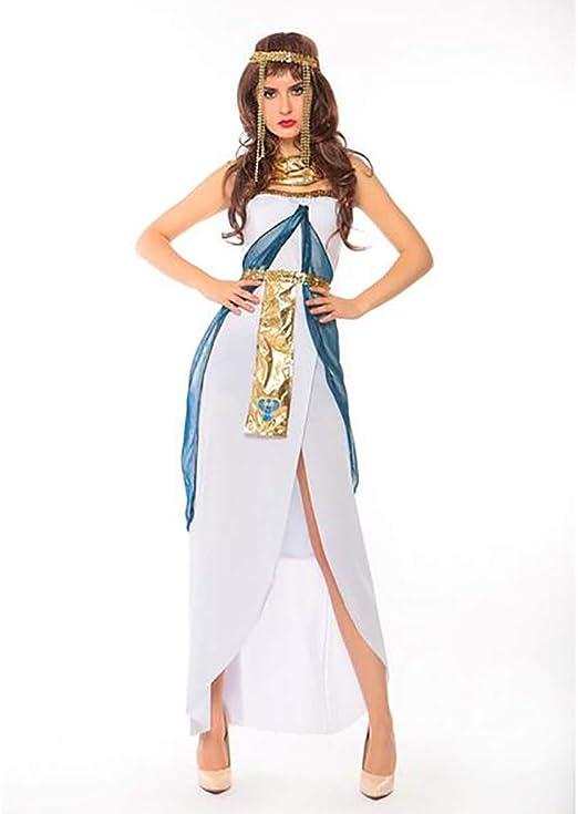 SHANGLY Halloween Disfraces Cleopatra Ropa De Cosplay Vestido De ...
