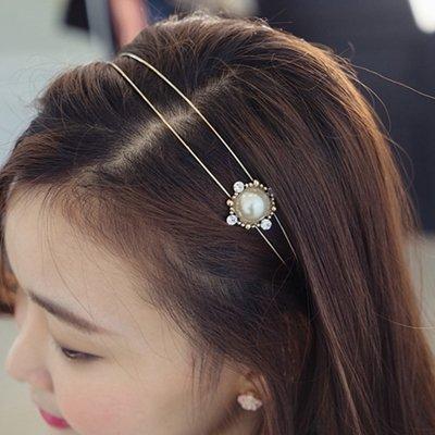 usongs Authentic ? two-level retro pearl hair bands fashion hair accessories women girls headdress 338