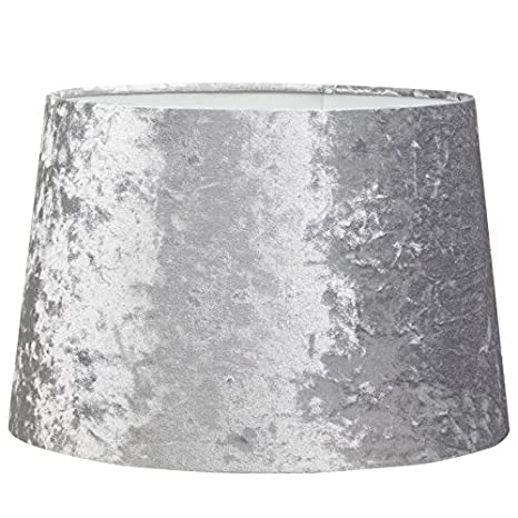 Beautiful Dark Grey Crush Velvet Light Ceiling Pendant Lamp Shade