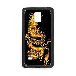 C-Y-F-CASE DIY Sparkle Angry Dragon Pattern Phone Case For samsung galaxy note 4
