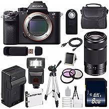 Sony Alpha a7R II Mirrorless Digital Camera (International Model) + Sony E 55-210mm f/4.5-6.3 OSS E-Mount Lens (Black) + 49mm 3 Piece Filter Kit